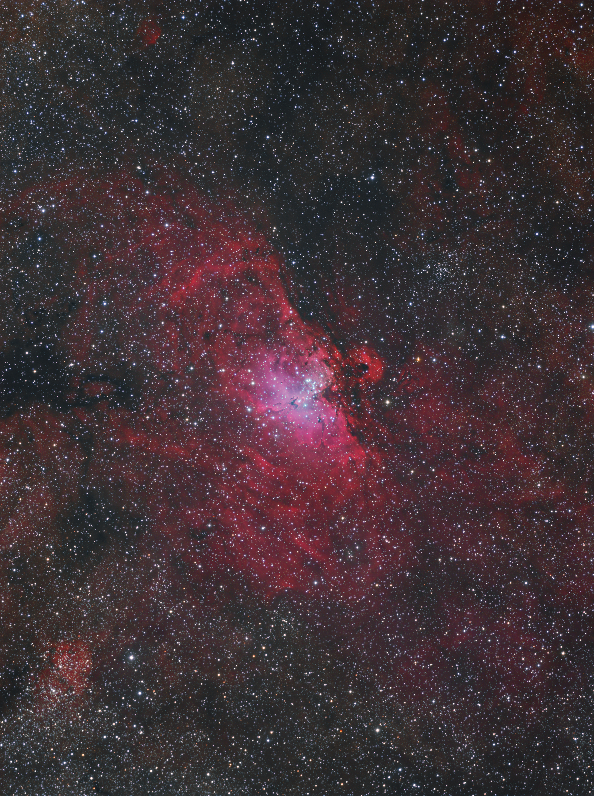 The Eagle Nebula(M16)HaRGB